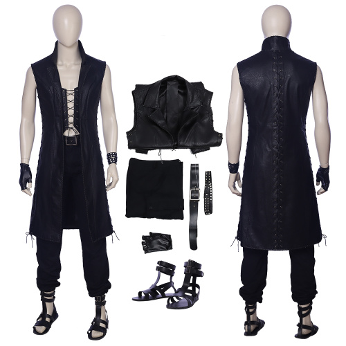 V Costume Devil May Cry 5 Cosplay The Mysterious One Outfit Full Set