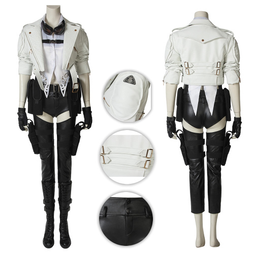 Lady Costume Devil May Cry 5 Cosplay Mary Full Set Deluxe Version