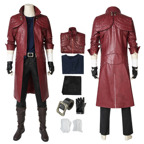 Dante Costume Devil May Cry 5 Cosplay  Full Set