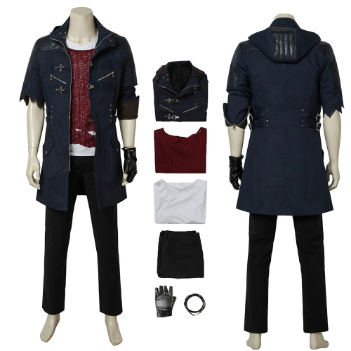 Nero Costume Devil May Cry 5 Cosplay Custom Made