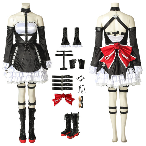 Marie Rose Costume Dead Or Alive 6 Cosplay Full Set