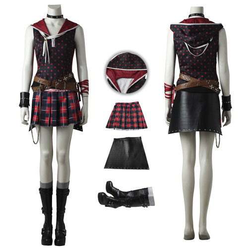 Iris Amicitia Costume Final Fantasy XV Cosplay High Quality Full Set