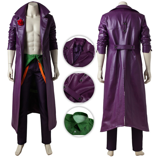 Joker Costume Injustice 2 Cosplay Outfit Full Set