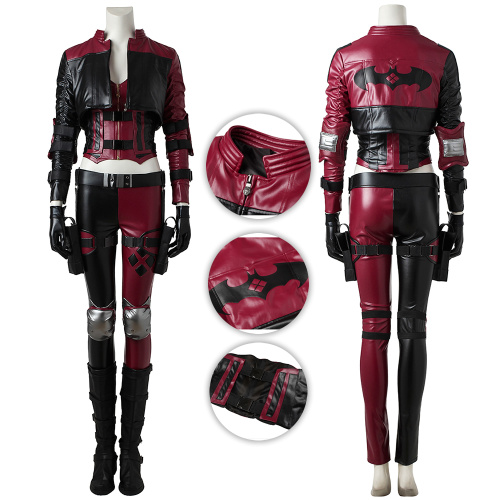 Harley Quinn Costume Injustice 2 Cosplay Deluxe Version Full Set