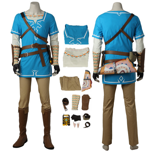 Breath of the Wild Link Costume The Legend of Zelda: Breath of the Wild Cosplay  Full Set