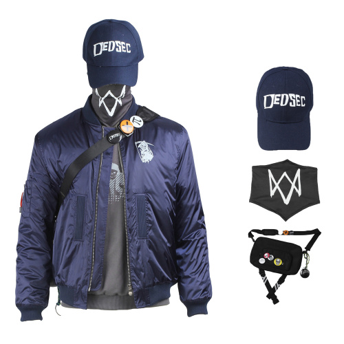Marcus Holloway Costume Watch Dogs 2 Cosplay