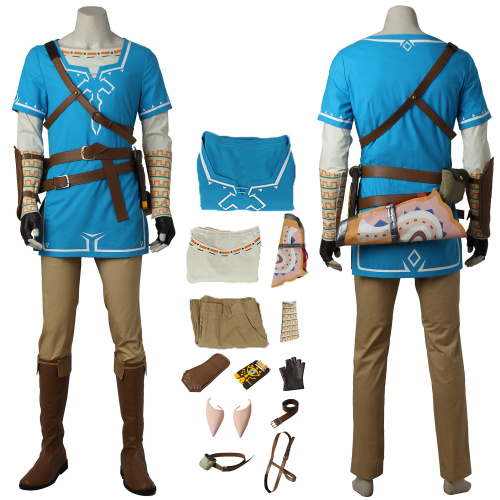 Link Costume The Legend of Zelda: Breath of the Wild Cosplay High Quality Clothes
