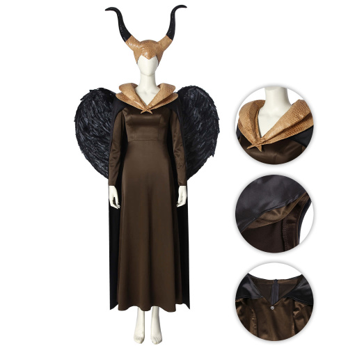 Evil Witch Costume Maleficent: Mistress of Evil Cosplay Maleficent