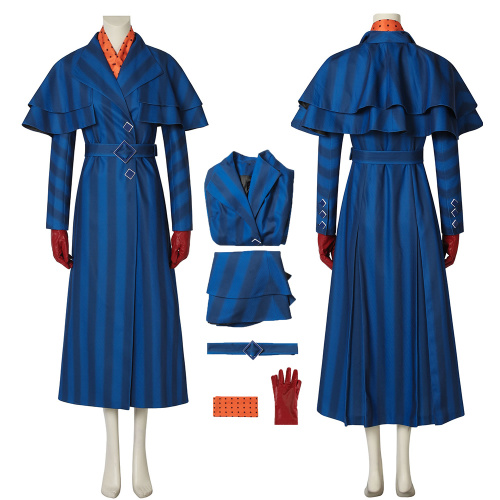 Mary Poppins Costume Mary Poppins Returns Cosplay