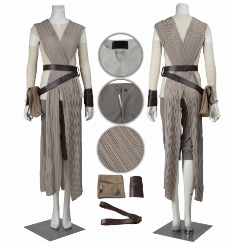 Rey Costume Star wars The Force Awakens Cosplay For Women