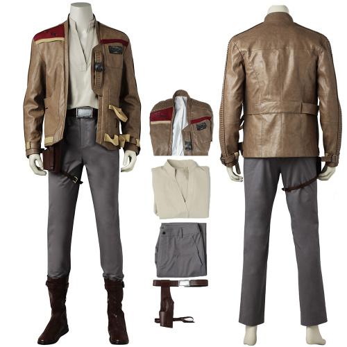 Finn Costume Star Wars: The Last Jedi Cosplay Full Set