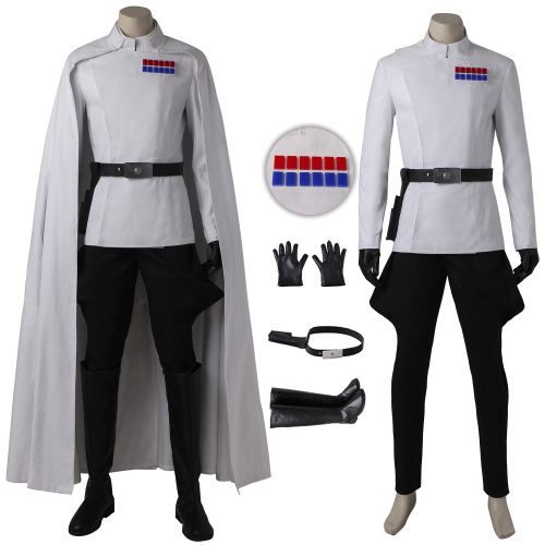 Orson Krennic Costume Rogue One: A Star Wars Story Cosplay Full Set