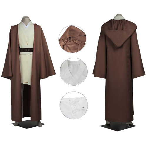 Obi-Wan Kenobi Costume Star Wars: The Last Jedi Cosplay