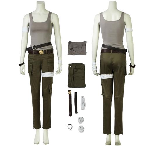 Lara Croft Costume Tomb Raider Cosplay Custom Made
