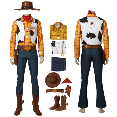 Woody Costume Toy Story Cosplay Full Set