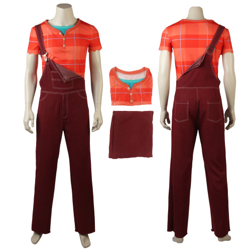 Ralph Costume Ralph Breaks the Internet: Wreck-It Ralph 2 Cosplay Halloween Outfit
