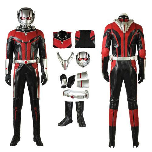 Ant-Man Costume Ant-Man and the Wasp Cosplay Scott Lang Full Set Deluxe Version