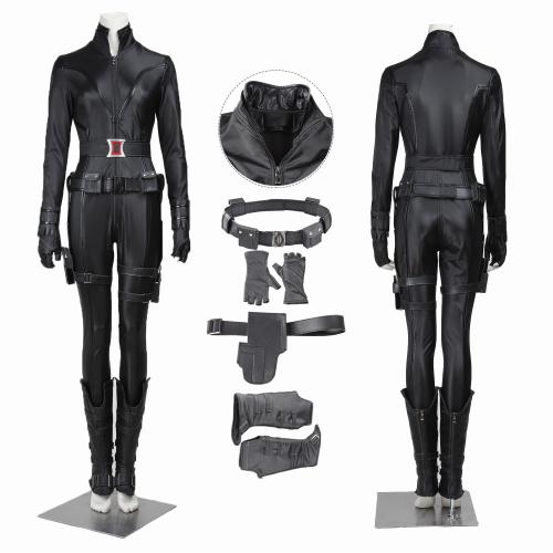 Black Widow Costume The Avengers Cosplay Natasha Romanoff Full Set