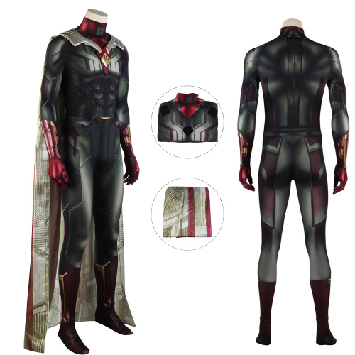 Vision Costume Avengers: Infinity War Cosplay Outfit Full Set