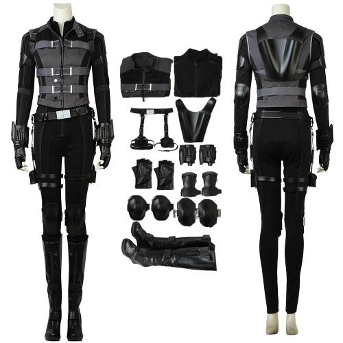 Black Widow Costume Avengers: Infinity War Cosplay Natasha Romanoff Full Set