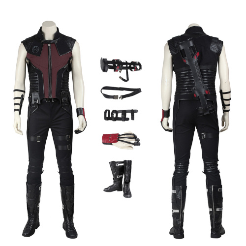 Hawkeye Costume The Avengers Cosplay Clint Barton Full Set