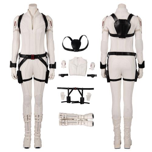 Black Widow Costume 2020 Black Widow Cosplay Natasha Romanoff White Version