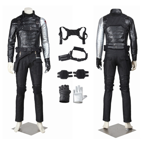 Bucky Barnes Costume Captain America: The Winter Soldier Cosplay