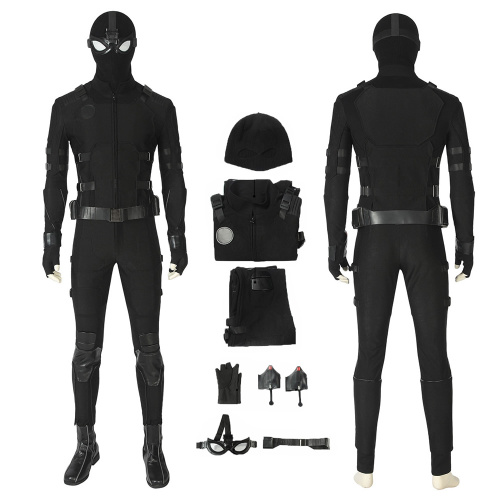 Spider-Man Costume Far From Home Cosplay Peter Parker Stealth Suit Full Set