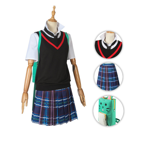 Peni Parker Costume Spider-Man: Into the Spider-Verse Cosplay Full Set