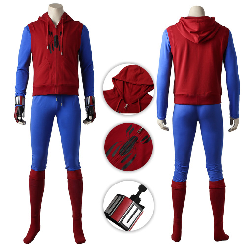Spider-Man Costume Spider-Man: Homecoming Cosplay Peter Parker Full Set