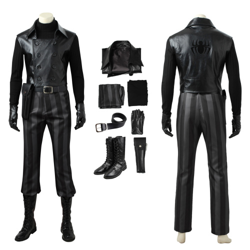 Noir Costume Spider-Man: Into the Spider-Verse Cosplay Full Set