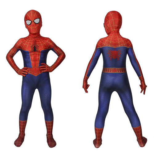 Spider-Man Costume Spider-Man: Into the Spider-Verse Cosplay Peter Parker Jumpsuit For Kids