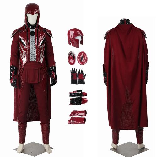 Magneto Costume X-Men: Apocalypse Cosplay Erik Lensherr Full Set