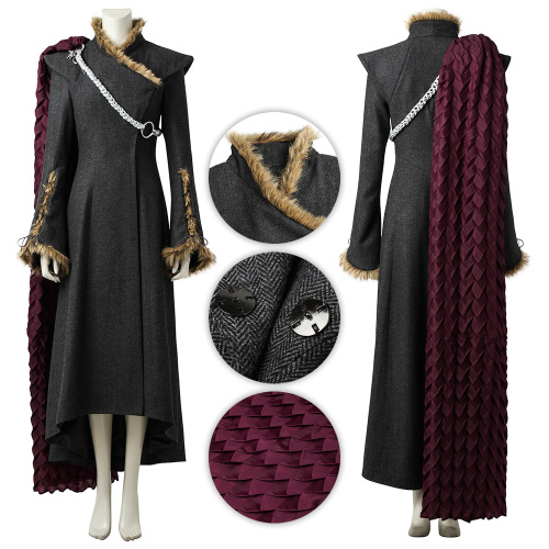 Mother of Dragons Costume Game of Thrones Season 7 Cosplay Daenerys Targaryen Full Set High Quality