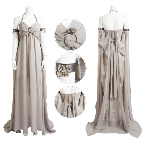 Daenerys Targaryen Costume Game of Thrones Season 1 Cosplay Dragon Queen Full Set