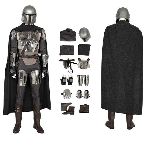 The Mandalorian Costume The Mandalorian Cosplay Full Set