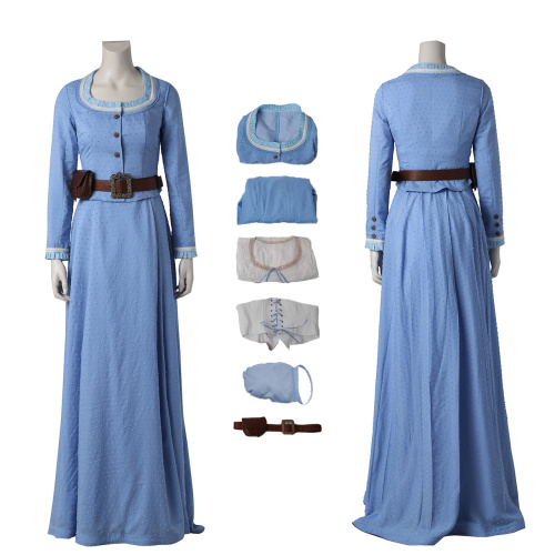 Dolores Abernathy Costume Westworld Cosplay For Halloween And Christmas
